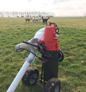 Trafalgar PC 1000 Swivel paddock cleaner for sale