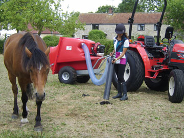 Trafalgar PC1000 robust paddock cleaners for sale