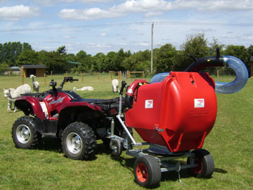 Trafalgar PC 500 Swivel paddock cleaner for sale